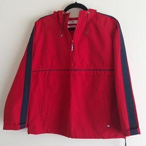 Tommy Hilfiger Jeans VTG Half Zip Hooded Jacket